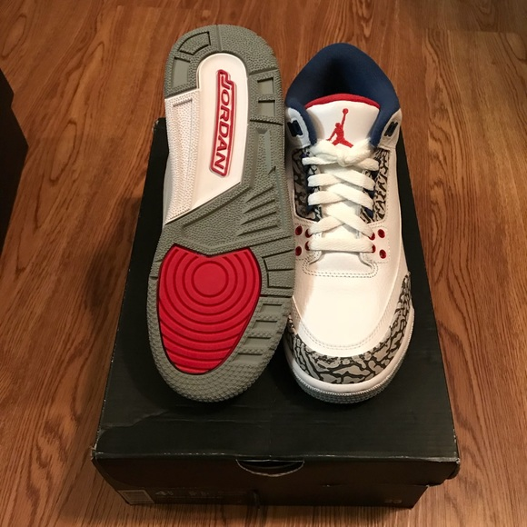 the best attitude 27bd0 46606 🚨ONE DAY SALE🚨 New Kids Air Jordan 3 True Blue NWT
